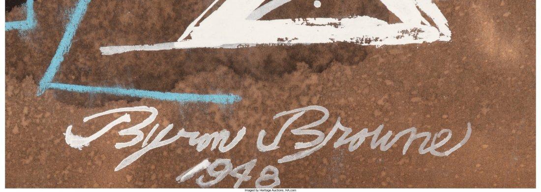 65273: Byron Browne (American, 1907-1961) Untitled, 194 - 3