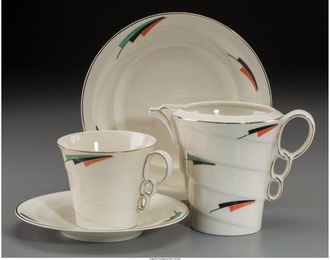 65919: An Eighteen-Piece Epiag Modernist Ceramic Partia