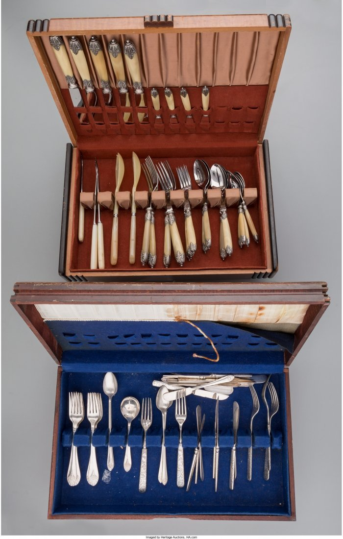 65924: Seventy-Five Pieces of Assorted Flatware, 20th c