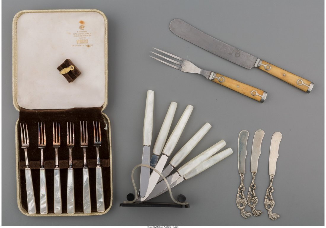 65928: Thirty-Six Pieces of Various Flatware, late 19th