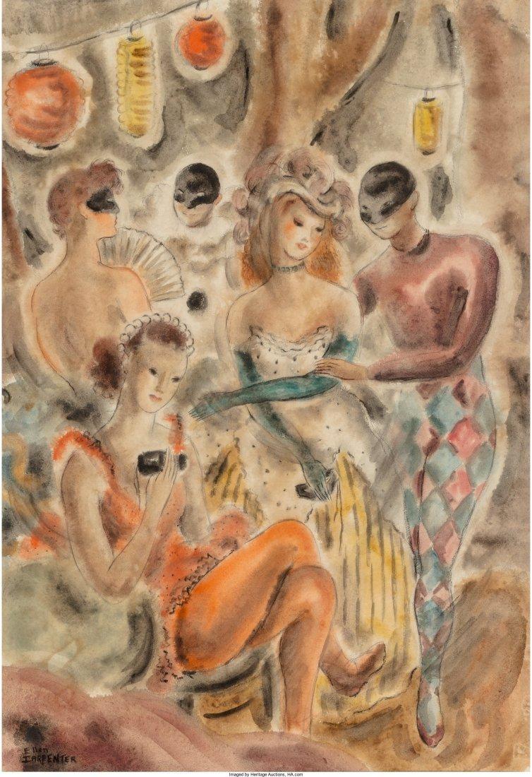 66212: Ellen Carpenter (American, 1906-1986) Masquerade