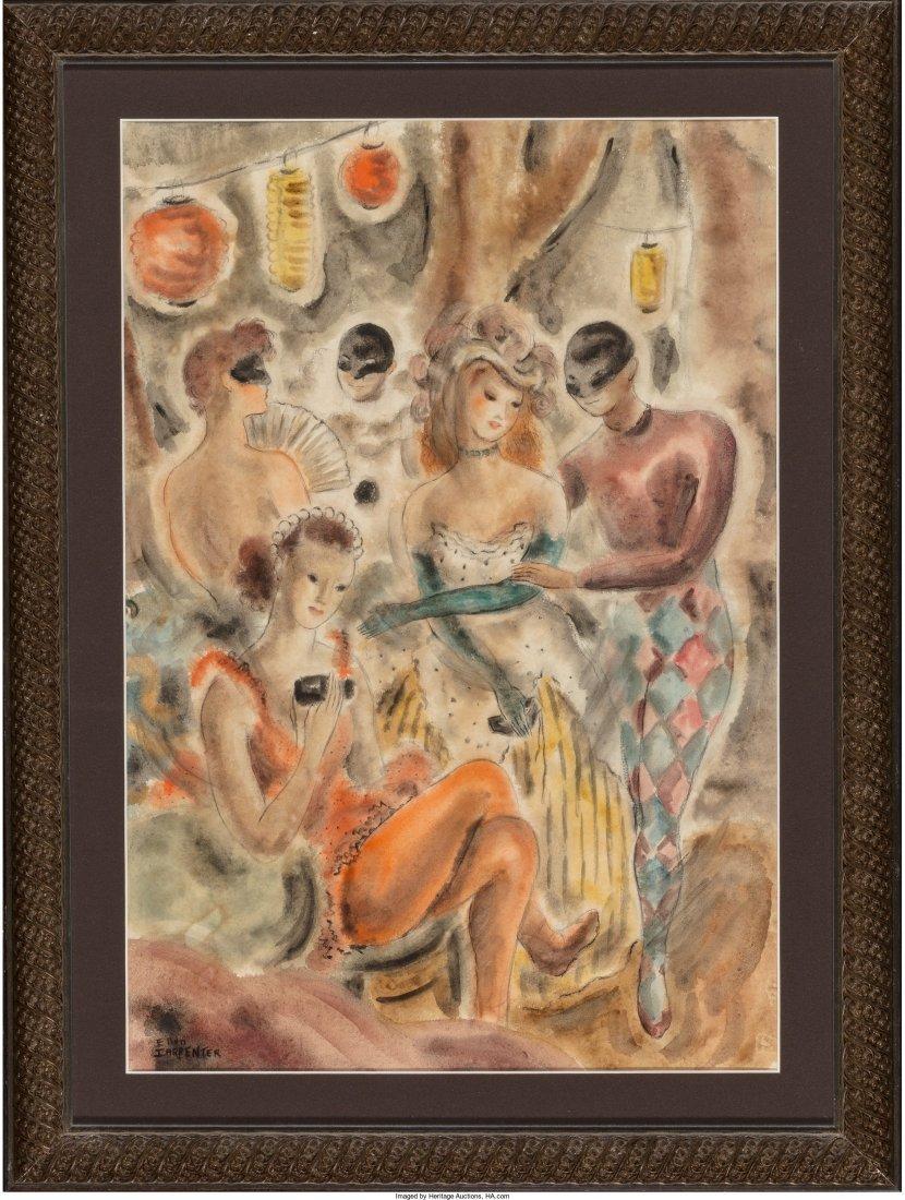 66212: Ellen Carpenter (American, 1906-1986) Masquerade - 2
