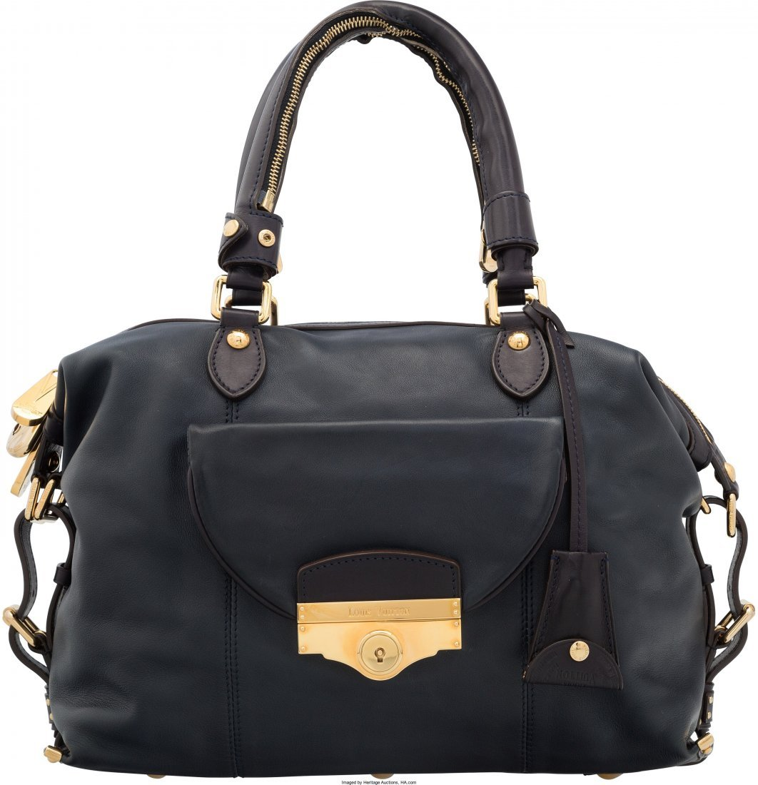 58018: Louis Vuitton Haute Maroquinerie Collection Navy