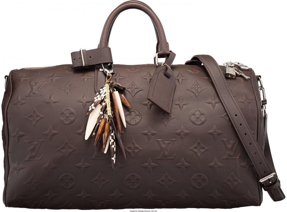 58020: Louis Vuitton x EDUN Limited Edition Brown Monog