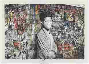 Mr. Brainwash (b. 1966) Samo is alive (Basquiat)