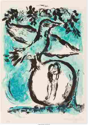 Marc Chagall (1887-1985) L'Oiseau vert (The Gree