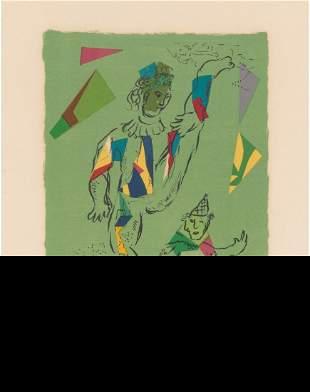 Marc Chagall (1887-1985) L'Acrobate vert, 1979 L