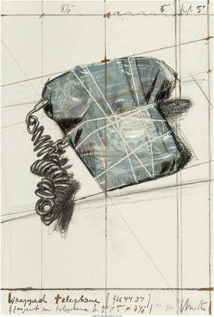 Christo and Jeanne-Claude Wrapped Telephone, Pro