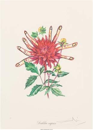 Salvador Dalí (1904-1989) Florals (Surrealist F