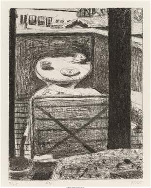 Richard Diebenkorn (1922-1993) #31 (looking out