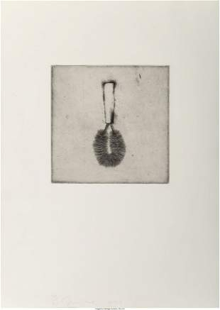 Jim Dine (b. 1935) Untitled, from Four German Br