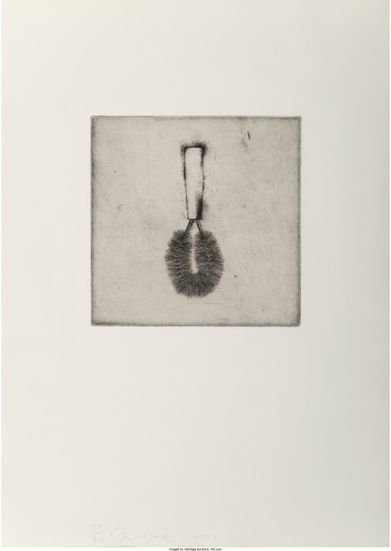 65025: Jim Dine (b. 1935) Untitled, from Four German Br