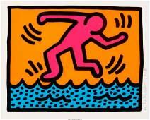 65046: Keith Haring (1958-1990) Pop Shop Quad II (set o