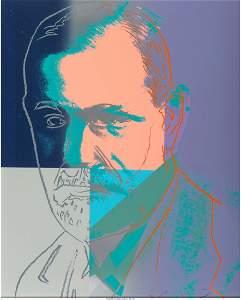 65179: Andy Warhol (1928-1987) Sigmund Freud, from Ten
