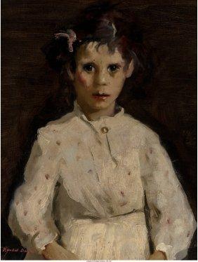68079: Randall Davey (American, 1887-1964) Portrait of