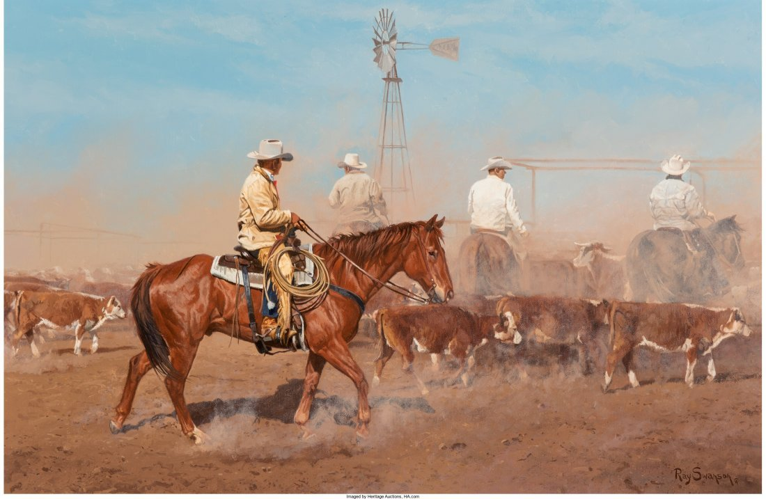 68009: Ray Swanson (American, 1937-2004) West Texas Dus