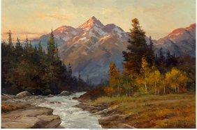 68018: Robert William Wood (American, 1889-1979) Teton