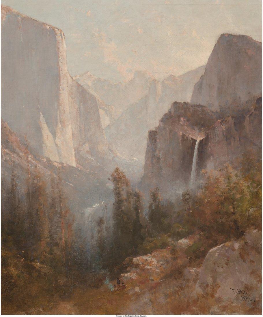 68024: Thomas Hill (American, 1829-1908) Yosemite, 1892