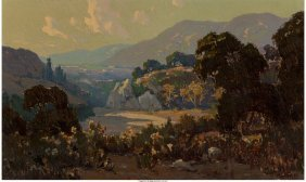 68031: Elmer Wachtel (American, 1864-1929) Devil's Gate