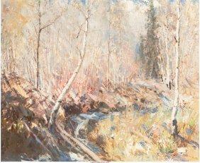 68033: Fremont F. Ellis (American, 1897-1985) Aspen Cre