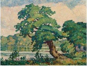 68036: Birger Sandzén (Swedish/American, 1871-1954) Li