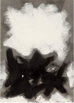 77034: Adolph Gottlieb (1903-1974) Opaque White, 1960 O