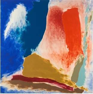 77052: Friedel Dzubas (1915-1994) Morning Crow, 1979 Ac
