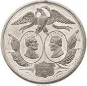 43162 Lincoln  Johnson DeWitt 1 Jugate Medal  AL1