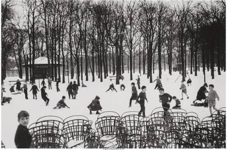 73161: Edouard Boubat (French, 1923-1999) Jardin du Lux