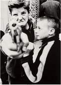 73191: William Klein (American, b. 1928) Gun 1, New Yor