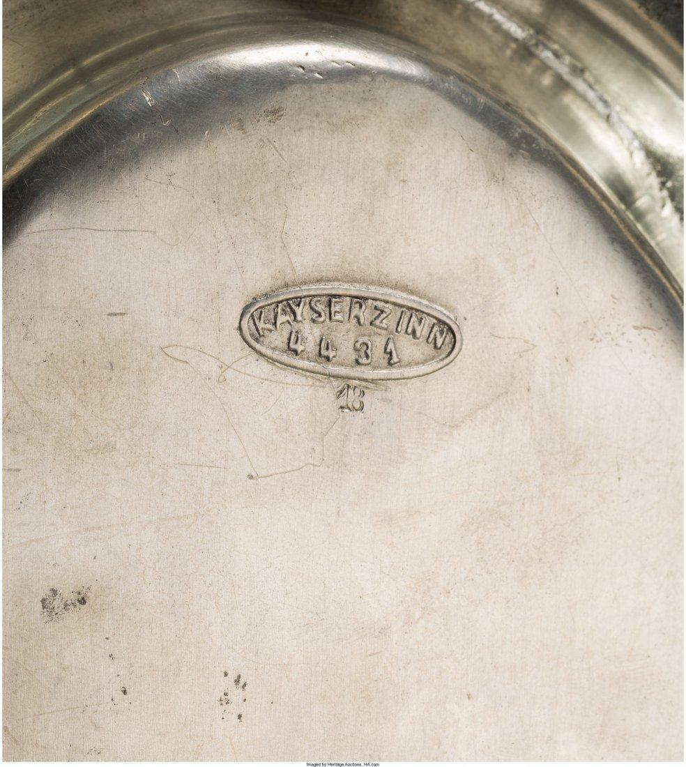 63086: Fifteen Kayserzinn Pewter Tablewares Circa 1900- - 2