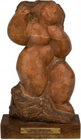 Lorrie Goulet (American, b. 1925) Female Nude, 2
