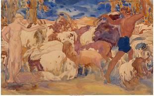 63038: Leon Bakst and Studio (Russian, 1866-1924)