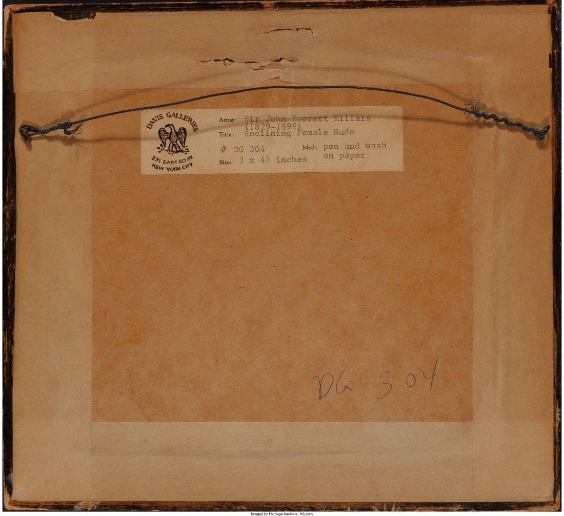 63045: John Everett Millais (British, 1829-1896) Reclin - 3