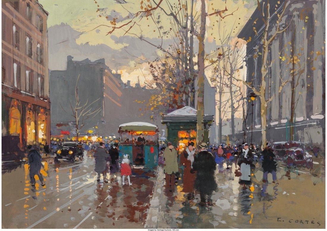 66005: Edouard-Léon Cortès (French, 1882-1969) Statio