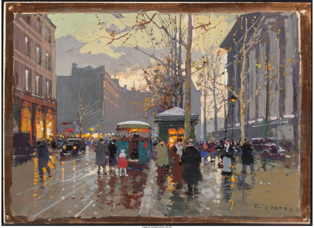 66005: Edouard-Léon Cortès (French, 1882-1969) Statio - 4