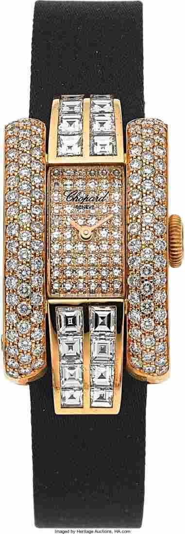 Chopard La Strada 18K Gold & Diamond Exquisite L
