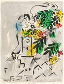 Marc Chagall (1887-1985) Affiche pour la ville d