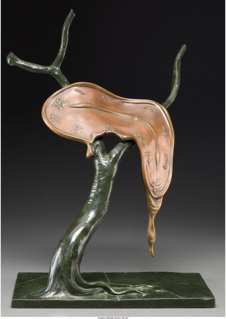 61700: Salvador Dalí (Spanish, 1904-1989) Le profil du