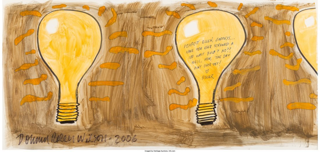 61705: Donald Roller Wilson (American, b. 1938) 100 Wat