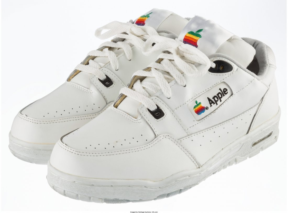 77001: Apple Apple Computer Sneakers, circa ea - 2