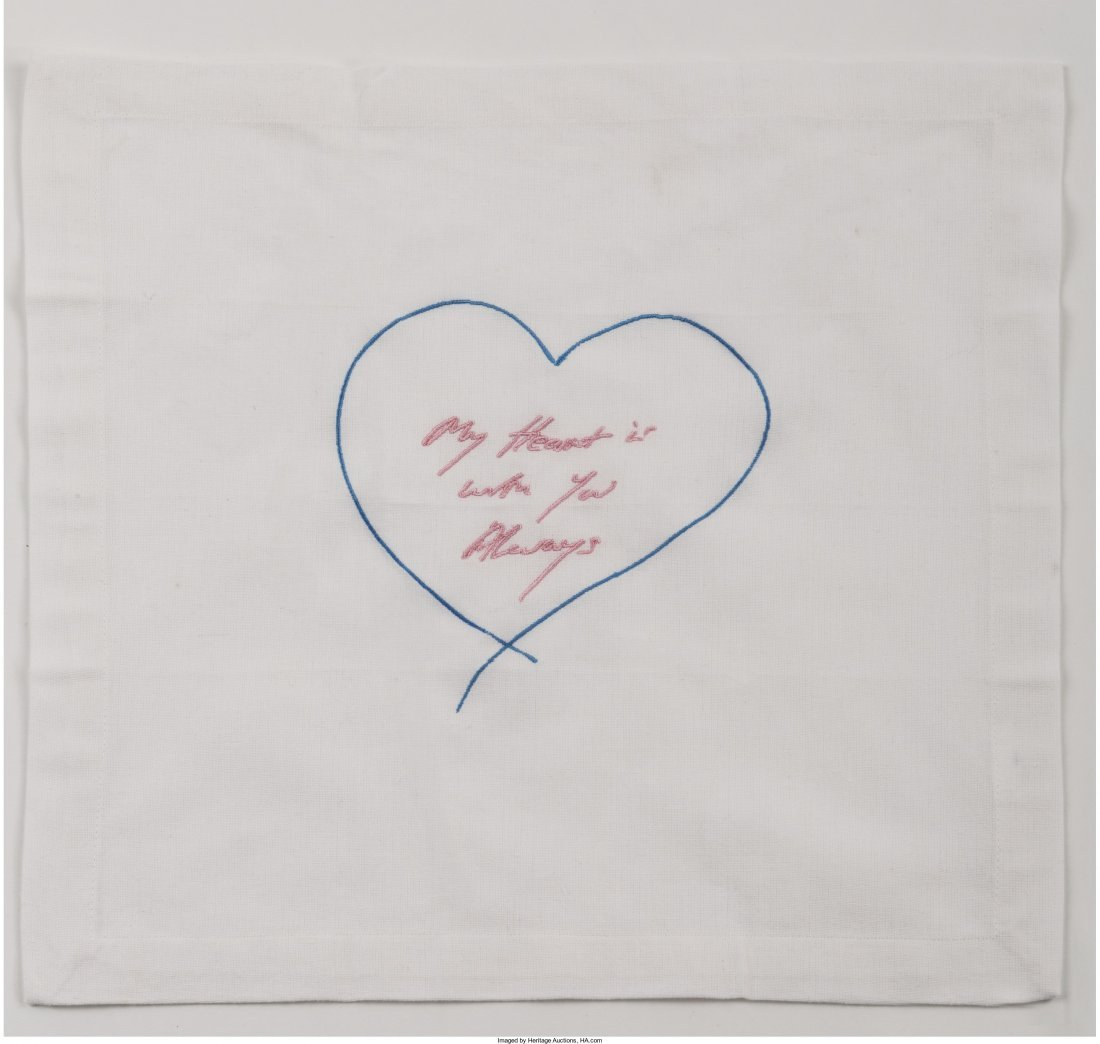 77044: Tracey Emin (b. 1963) My Heart is with You Alway