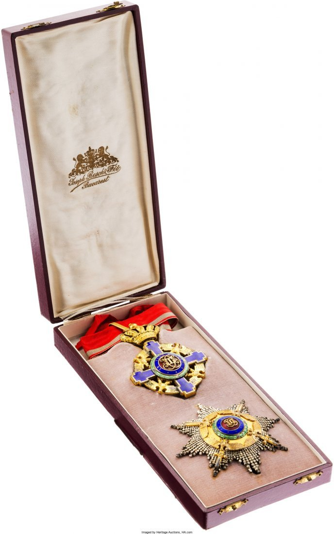 40205: Order of the Star of Romania Grand Officer Set i