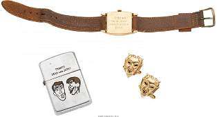 89021 A Dean Martin and Jerry Lewis Set of 14K Gold Gi