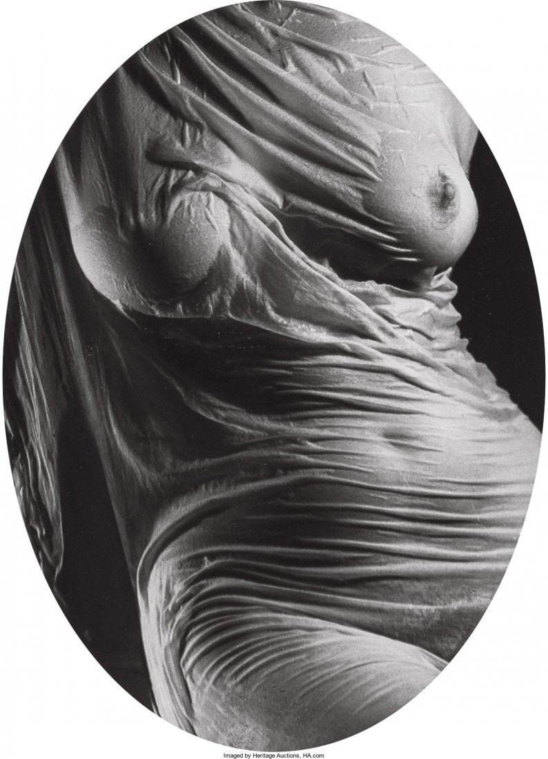 11011: Ruth Bernhard (American, 1905-2006) Wet Silk, 19