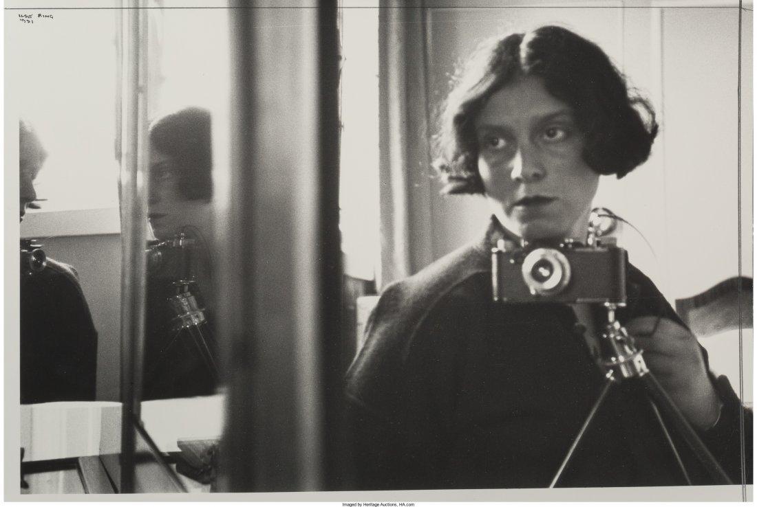 11013: Ilse Bing (German/American, 1899-1998) Self Port