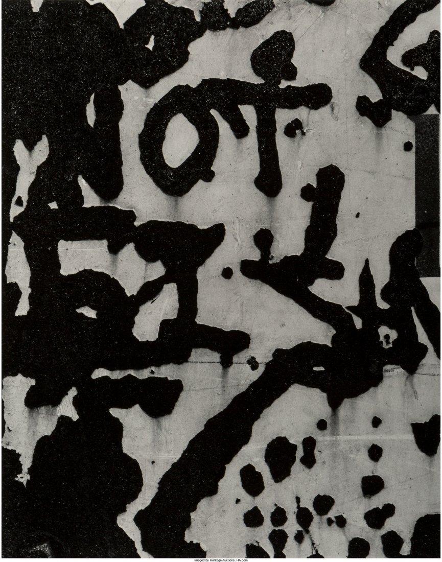 11102: Aaron Siskind (American, 1903-1991) New York 2,
