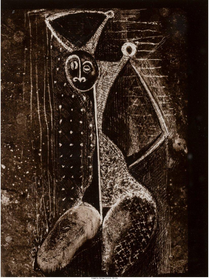 11020: Brassaï (French, 1899-1984) Sevillane Denudee (