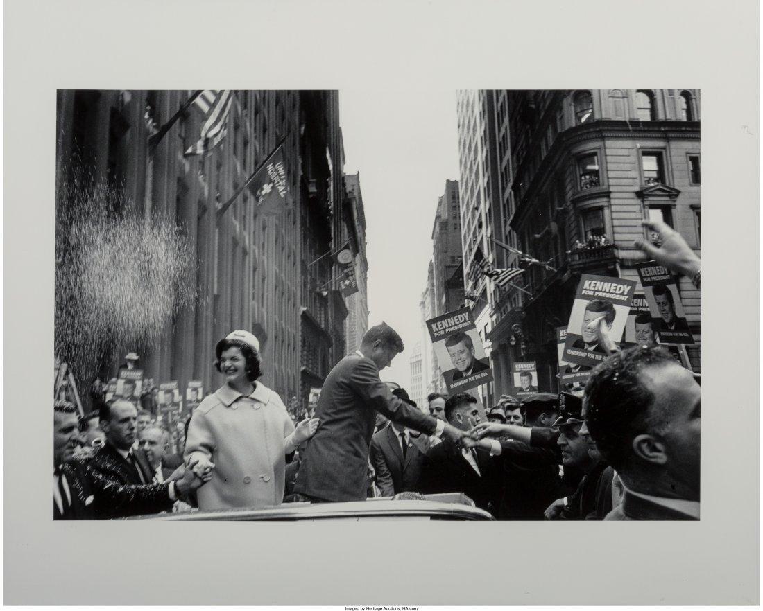 11022: Cornell Capa (American, 1918-2008) JFK and Jacki