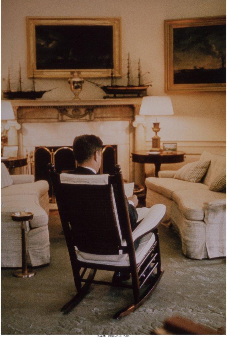 11023: Cornell Capa (American, 1918-2008) President Ken
